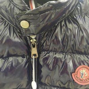 Moncler Waistcoat Navy Full Zip